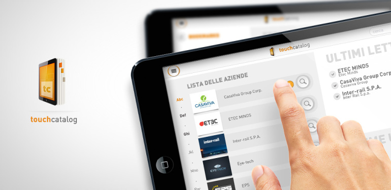 Touchcatalog - il tuo catalogo digitale