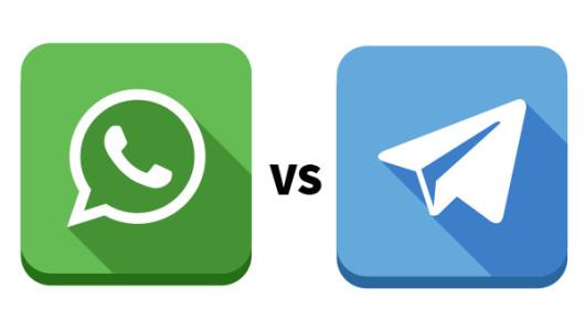 whatsapp versus telegram