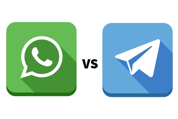 whatsapp versus telegram